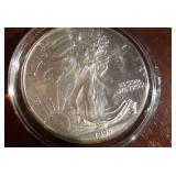1995 US American Eagle Liberty Silver Dollar