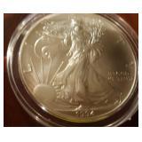 1994 US American Eagle Liberty Silver Dollar