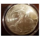 1997 US American Eagle Liberty Silver Dollar