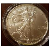 2000 US American Eagle Liberty Silver Dollar