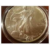 2002 US American Eagle Liberty Silver Dollar