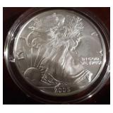 2005 US American Eagle Liberty Silver Dollar