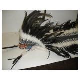 Native American Plains Indian Chiefs Head Dress