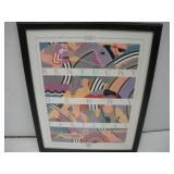 1987 Kentucky Derby Festival Print  15x20 Inches