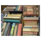 (5) Boxes Of Books