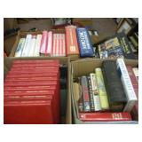 (4) Boxes Of Books