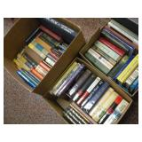 (3) Boxes Of Books