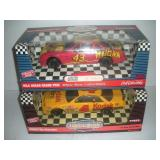 2 Ertl Die Cast Cars, 1:18 Scale, Hulk Hogan,
