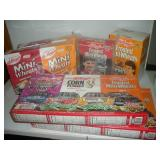 Nascar Cereal Boxes, Some NIB