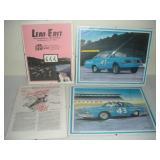 Lead East and Daytona Advertising Prints, 14x11