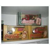Coca-Cola Die Cast Banks (3)