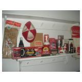 Coca-Cola Memorabilia-Napkin Holder, Nascar Mugs
