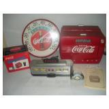 Coca-Cola Radios, Thermastat-12 in, Mini Clock