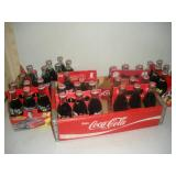 Wooden Coca-Cola Crate and Bottles