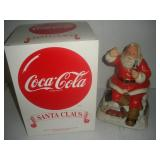 Coca-Cola Santa-Battery Operated Music Player