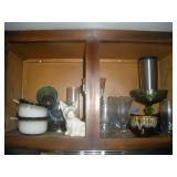 Contents of Cabinet-Glasses and Bowls