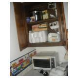 Contents of Cabinet-Kitchen Appliances