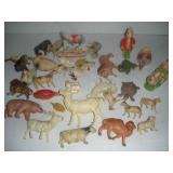 Vintage Plastic Animals