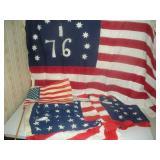 Flags- 48 Stars (2), Bicentennial