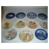 Assorted 4 in. Collectors Plates, Bing and Grondah