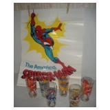 Pepsi Super Hero Glasses, Spiderman Poster