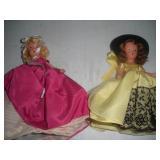 2 Nancy Ann Storybook Dolls, 7 inches