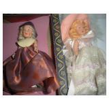 2 Nancy Ann Storybook Dolls, 6 inches
