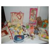 Vintage Character Toys, Flintstones, Smurfs, ET