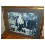 Framed Girl Print, 44x36, Server Girl