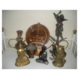 Decorative Items-Wood, Polystone, Brass