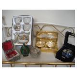 Tea Set and Assorted Decorative Items