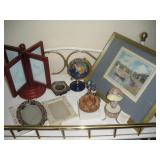 Table Top Picture Frames, Egg Music Box