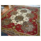 Persian Rug, 12x9, Very Worn
