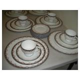 Wedgwood China, 5 Piece, Service for 8, Medici