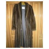 A. Herman Furs Mink Coat, 55 in. Length, Size M