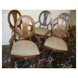 Chairs-2 Captains, 4 Side