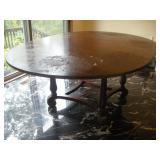 Table w/1 Leaf, 56/77x56x30