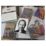 Books- Harry Potter, Steve Jobs, Life