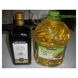 Olive Oil, Canola Oil