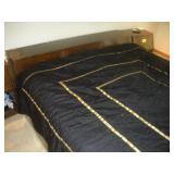 Henredon King Size Bed- Headboard, Footboard,