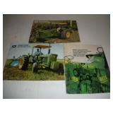 Vintage John Deere Advertising Brochures
