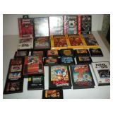 Assorted Vintage Sega Games