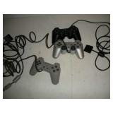 3 Playstation Controllers