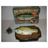 Big Mouth Billy Bass Animated Wall Hanging