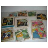 Sesame Street 45RPM Record Books