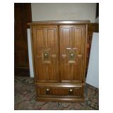 Wood Retro Wardrobe, 39x20x59