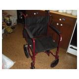 Medline Wheelchair  Seat Width 18 Inches