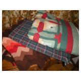 Quilt & 2 Blankets