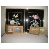 """Landscape/Floral Framed Prints, Tallest 20"""""""
