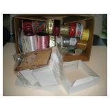 Ribbon & Small Gift Boxes